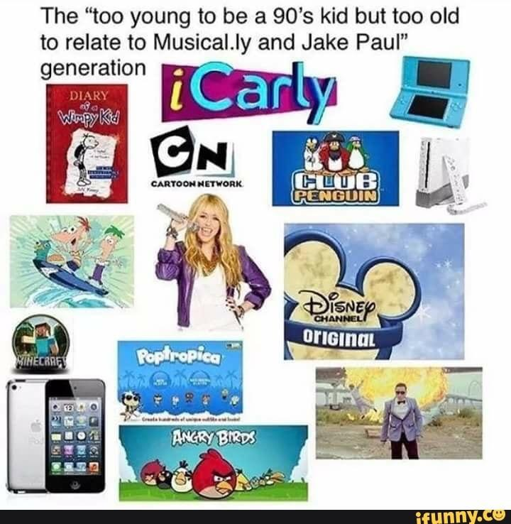 A montage just for those of us who grew up through the 2000s.