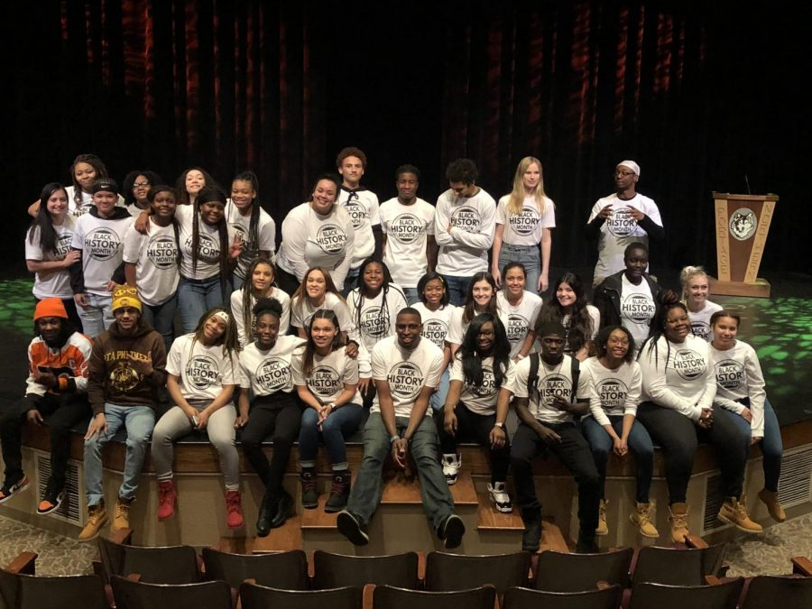 Black history month assembly takes place on 2/27