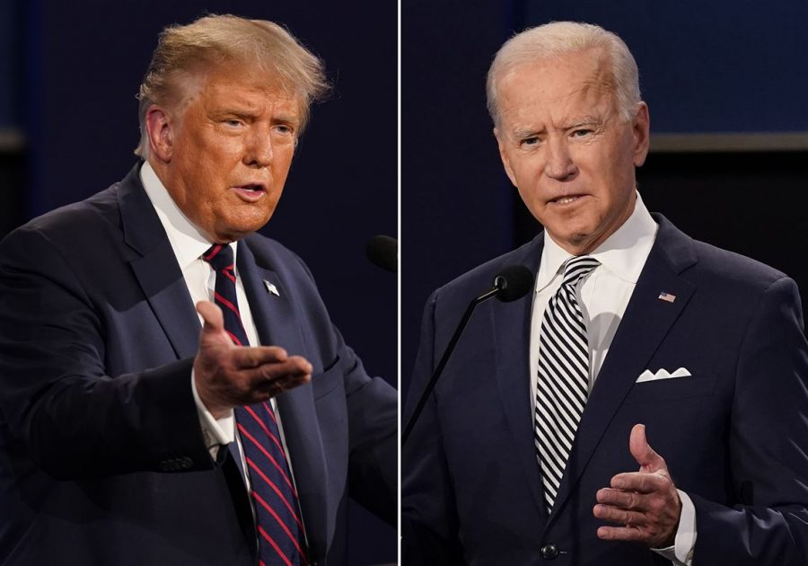 The first Presidential debate, or, and hour and a half of chaos