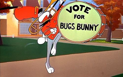 Bugs Bunny: the presidential candidate that we deserve