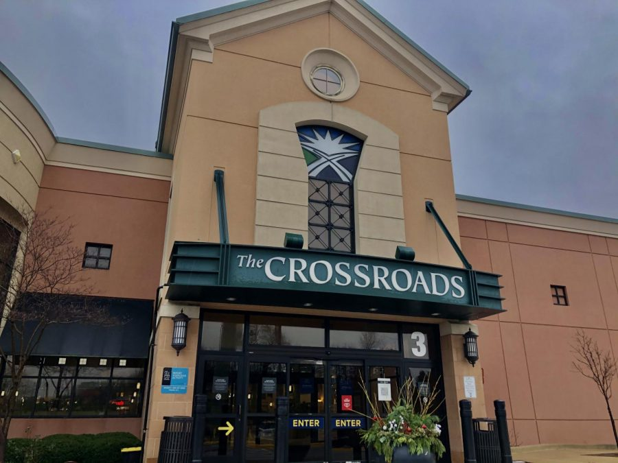 The Crossroads mall is one of many brick and mortar establishments getting ready for Black Friday, but aside from kiosks, patrons can shop most of the mall stores online.