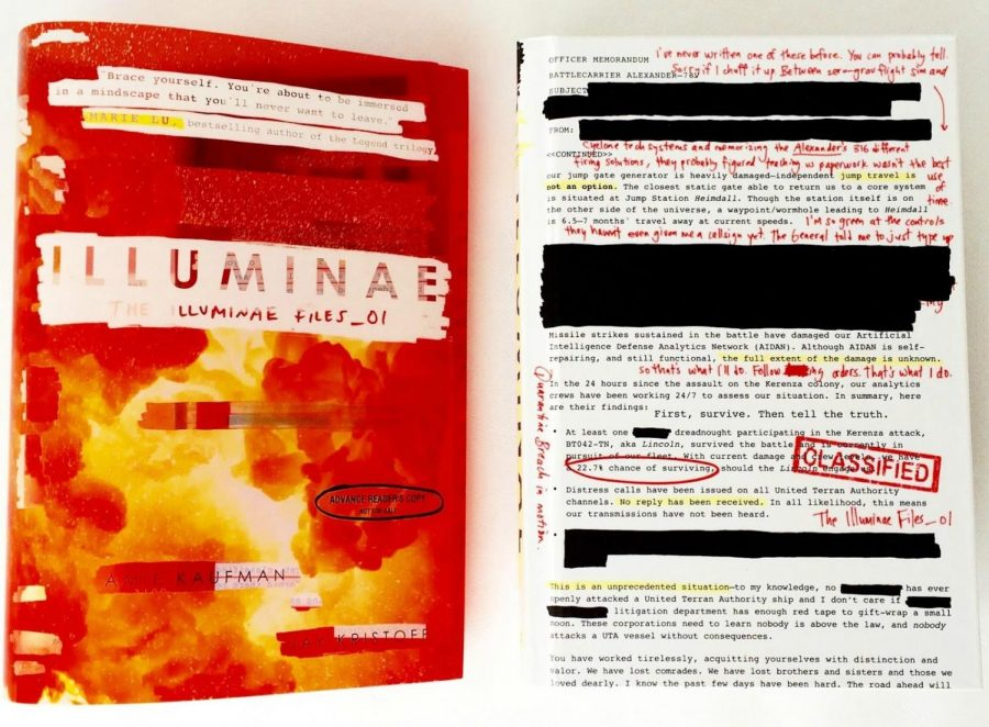 Illuminae: a surprising new YA find
