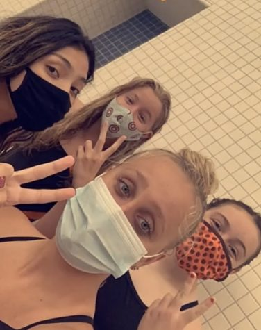 "One of the parameters for returning to swimming prior to the state meet being cancelled were mandatory masks. ""After each race we are always dying and we need oxygen but with the mask that's impossible,"" Perales said."