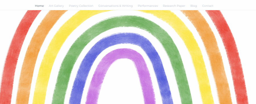 Ileana Oeschger, a freshman at Kalamazoo College, has developed a website showcasing art by queer youth in Michigan and advocating for more LGBTQ+ inclusion in Michigan's curriculum.