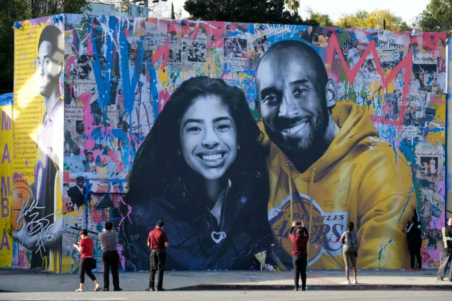 Throughout the last year, street artists have paid tribute to Kobe Bryant all over LA.