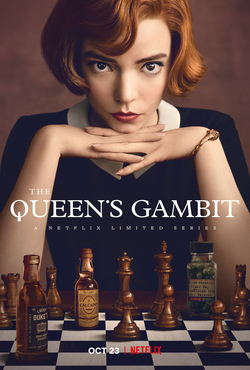 The Queen's Gambit is a Netflix miniseries based on the book of the same name.