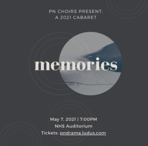 "The 2021 Cabaret concert, ""Memories"", will take place on May 7 at 7pm."